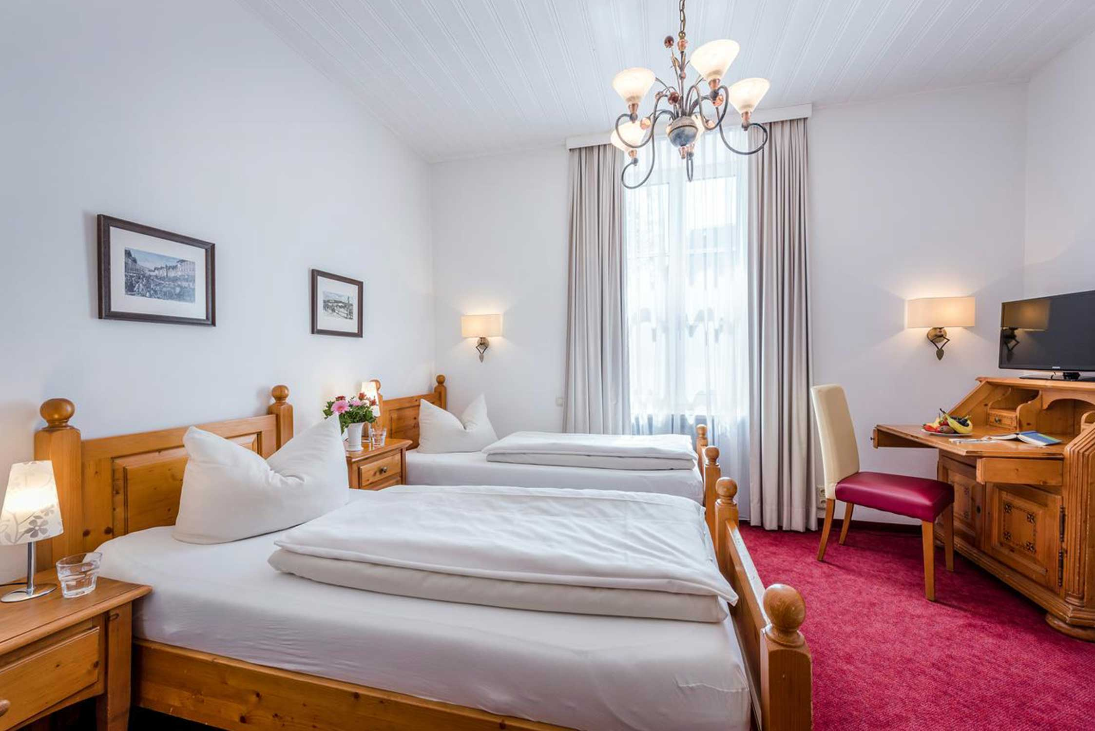 Hotel Laimer Hof, Double room with two beds